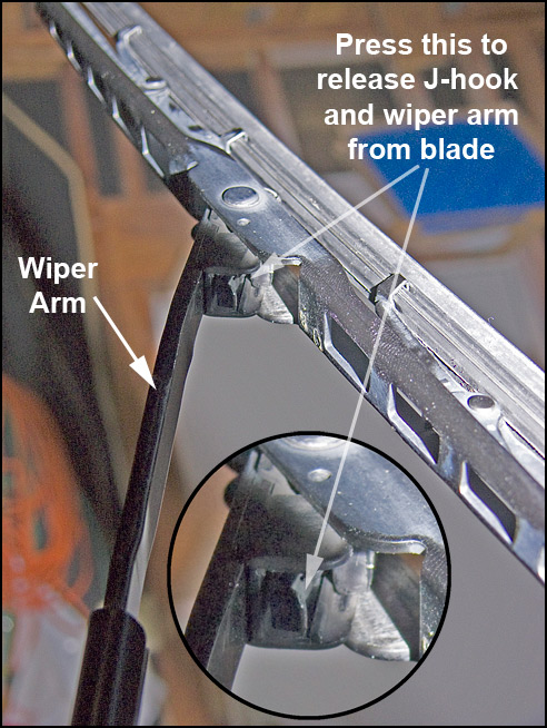 How To Remove Windshield Wipers >> Change Camry Windshield Wiper Blades