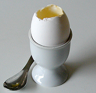how to make boiled egg in a cup